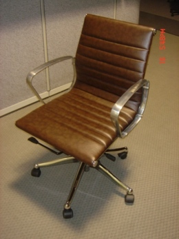 Used Eames replica chairs